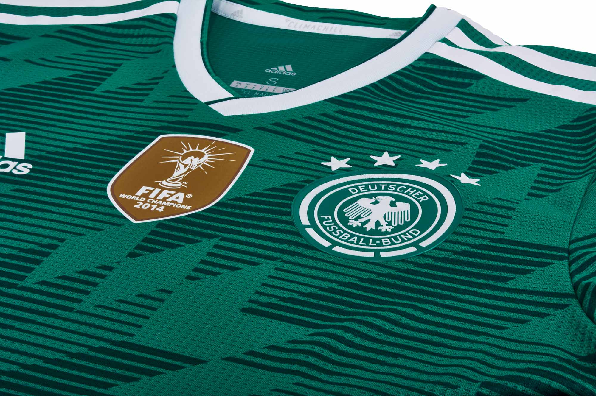 15c561d05 adidas Germany Authentic Away Jersey 2018-19 - SoccerPro.com