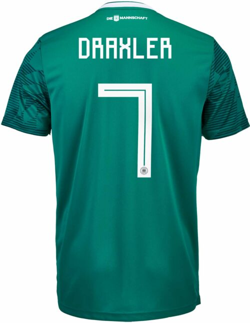 adidas Julian Draxler Germany Away Authentic Jersey 2018-19