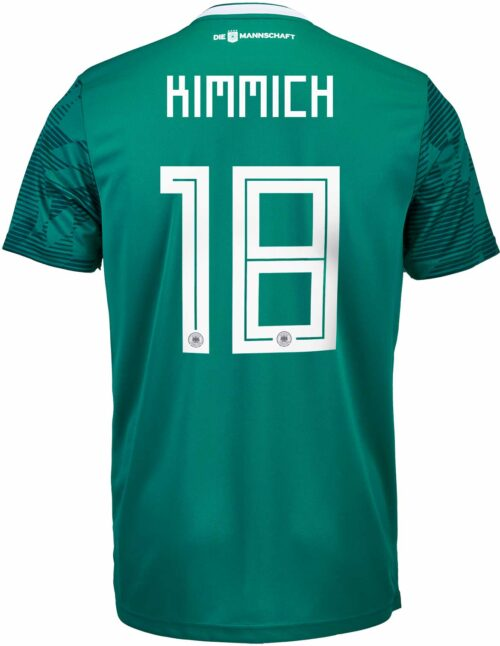 adidas Joshua Kimmich Germany Away Authentic Jersey 2018-19