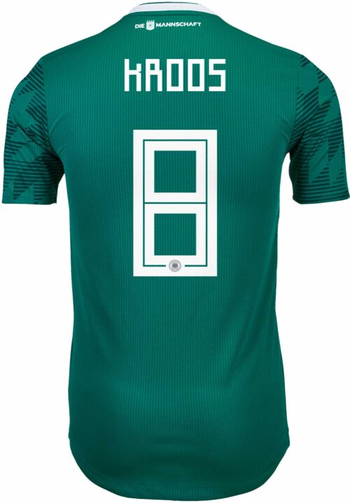 adidas Toni Kroos Germany Away Authentic Jersey 2018-19