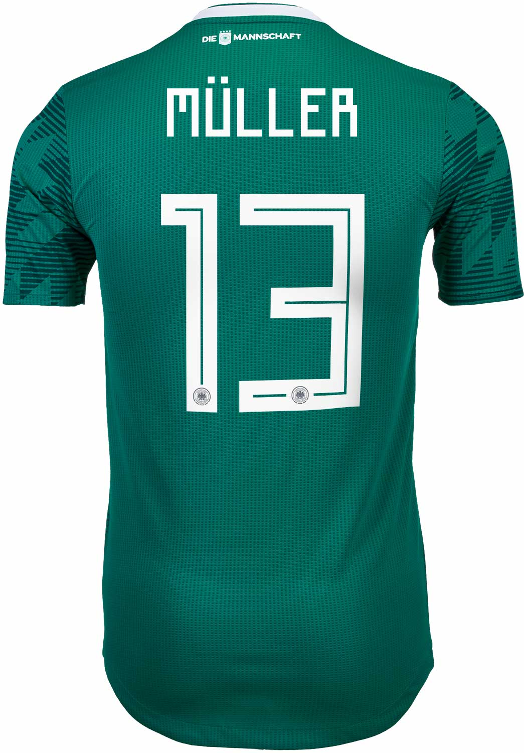 huge selection of ca334 f7e5b adidas Thomas Muller Germany Away Authentic Jersey 2018-19 ...