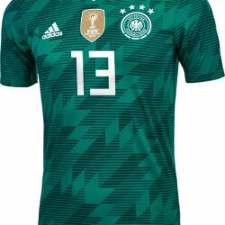 83e2eed3bde adidas Thomas Muller Germany Away Authentic Jersey 2018-19 - SoccerPro