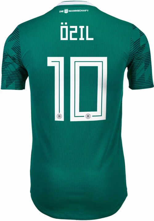 adidas Mesut Ozil Germany Away Authentic Jersey 2018-19
