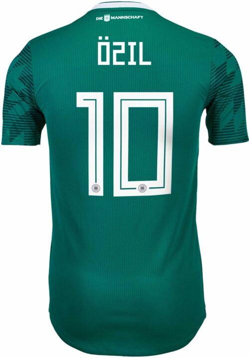adidas Mesut Ozil Germany Away Authentic Jersey 2018-19