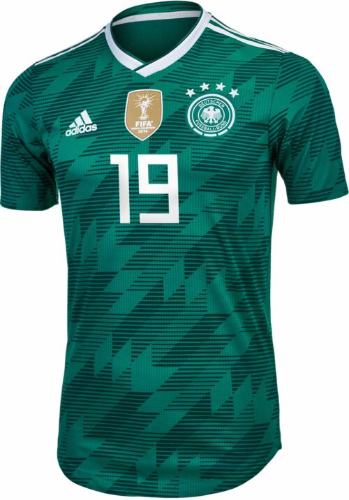 adidas Leroy Sane Germany Away Authentic Jersey 2018-19