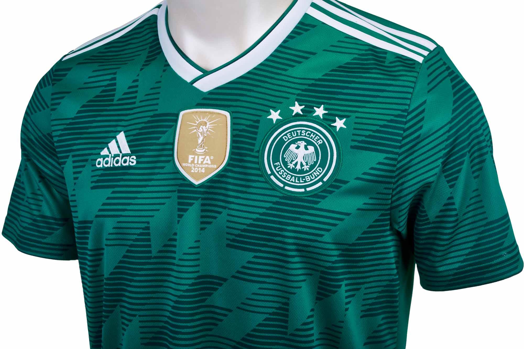 the best attitude 076d8 5f89a adidas Germany Away Jersey 2018-19 - SoccerPro.com