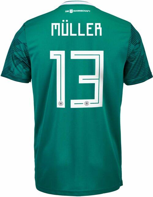 adidas Thomas Muller Germany Away Jersey 2018-19
