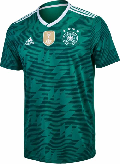 adidas Kids Germany Away Jersey 2018-19 NS