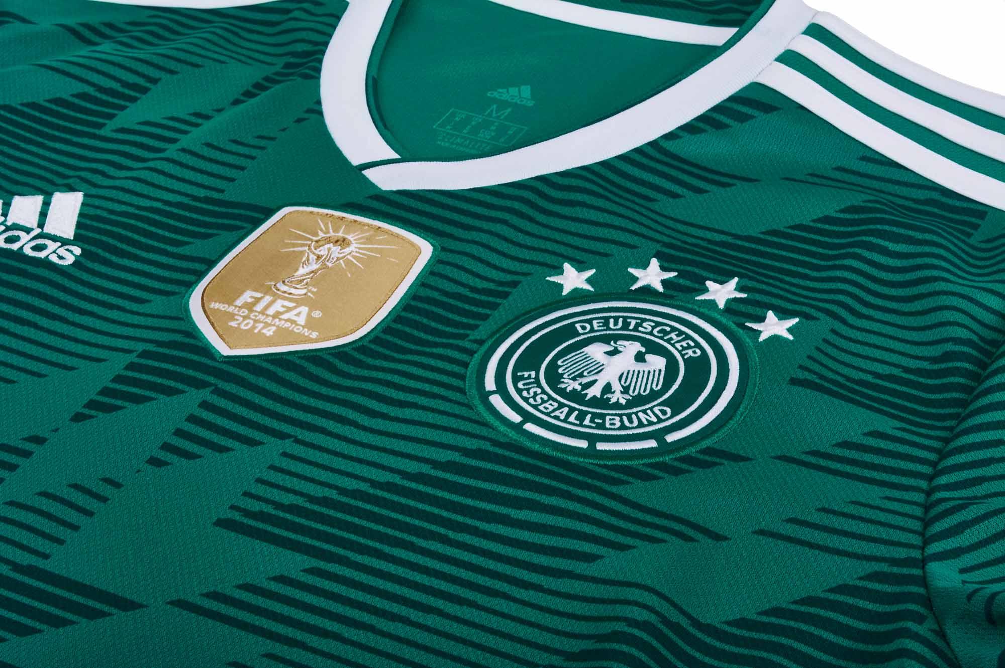 2be47c57 adidas Kids Germany Away Jersey 2018-19 - Soccerpro.com