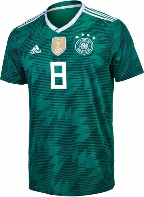 adidas Kids Toni Kroos Germany Away Jersey 2018-19