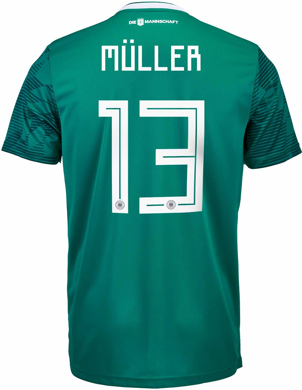 c7d66f3761c adidas Kids Thomas Muller Germany Away Jersey 2018-19