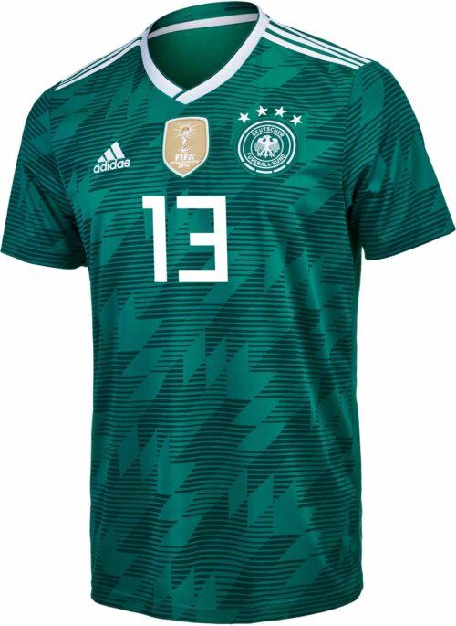 adidas Kids Thomas Muller Germany Away Jersey 2018-19