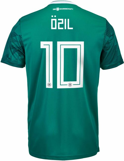 adidas Kids Mesut Ozil Germany Away Jersey 2018-19