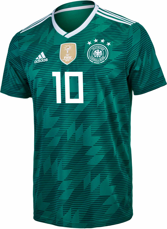 the best attitude 840c9 c1368 adidas Germany Away Jersey 2018-19 - SoccerPro.com