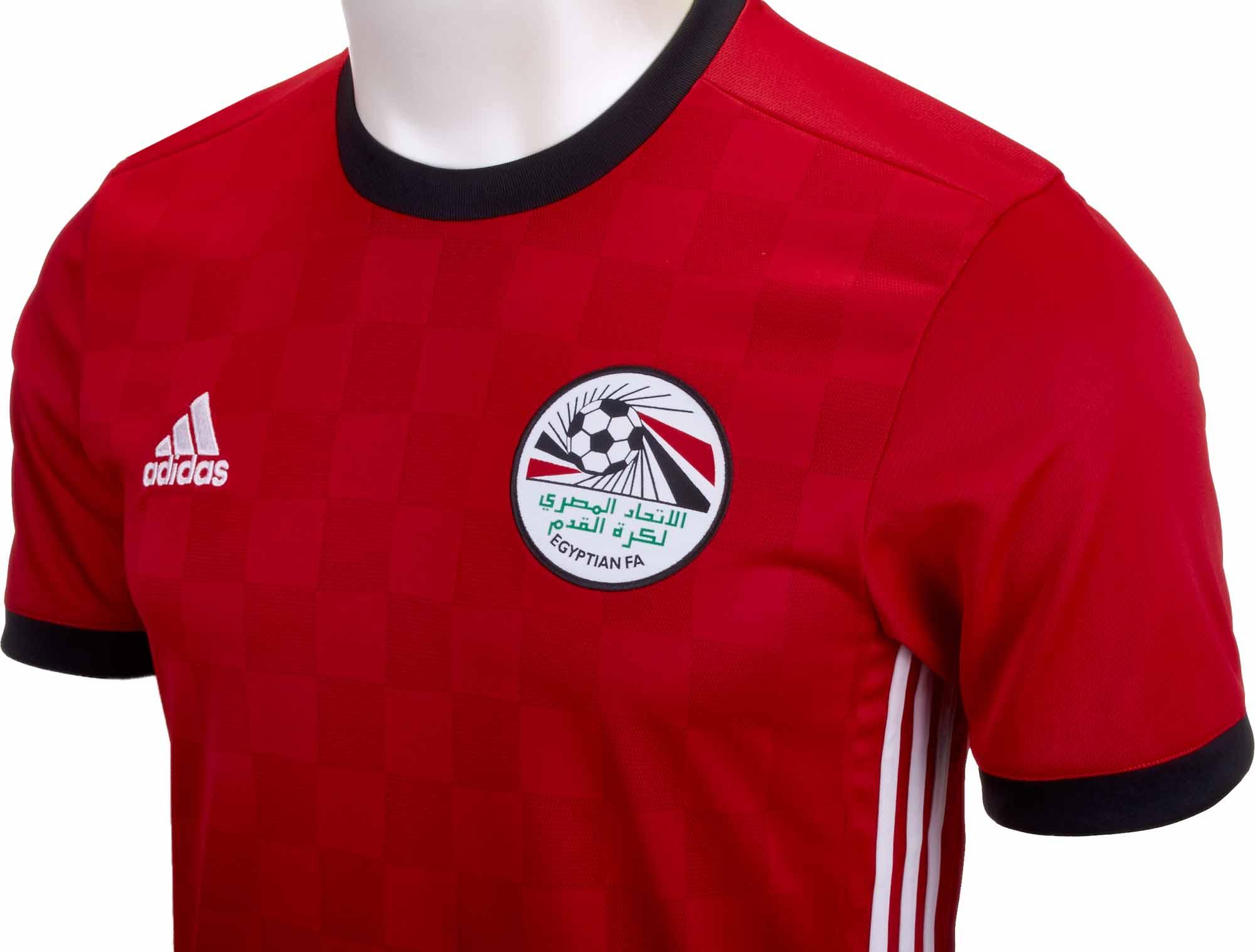 48e811b5cd3 adidas Egypt Home Jersey 2018-19 - SoccerPro