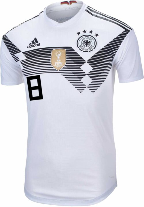 adidas Toni Kroos Germany Authentic Home Jersey 2018-19
