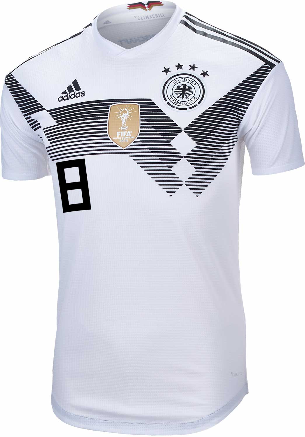 size 40 6b437 b5dab adidas Toni Kroos Germany Authentic Home Jersey 2018-19 ...