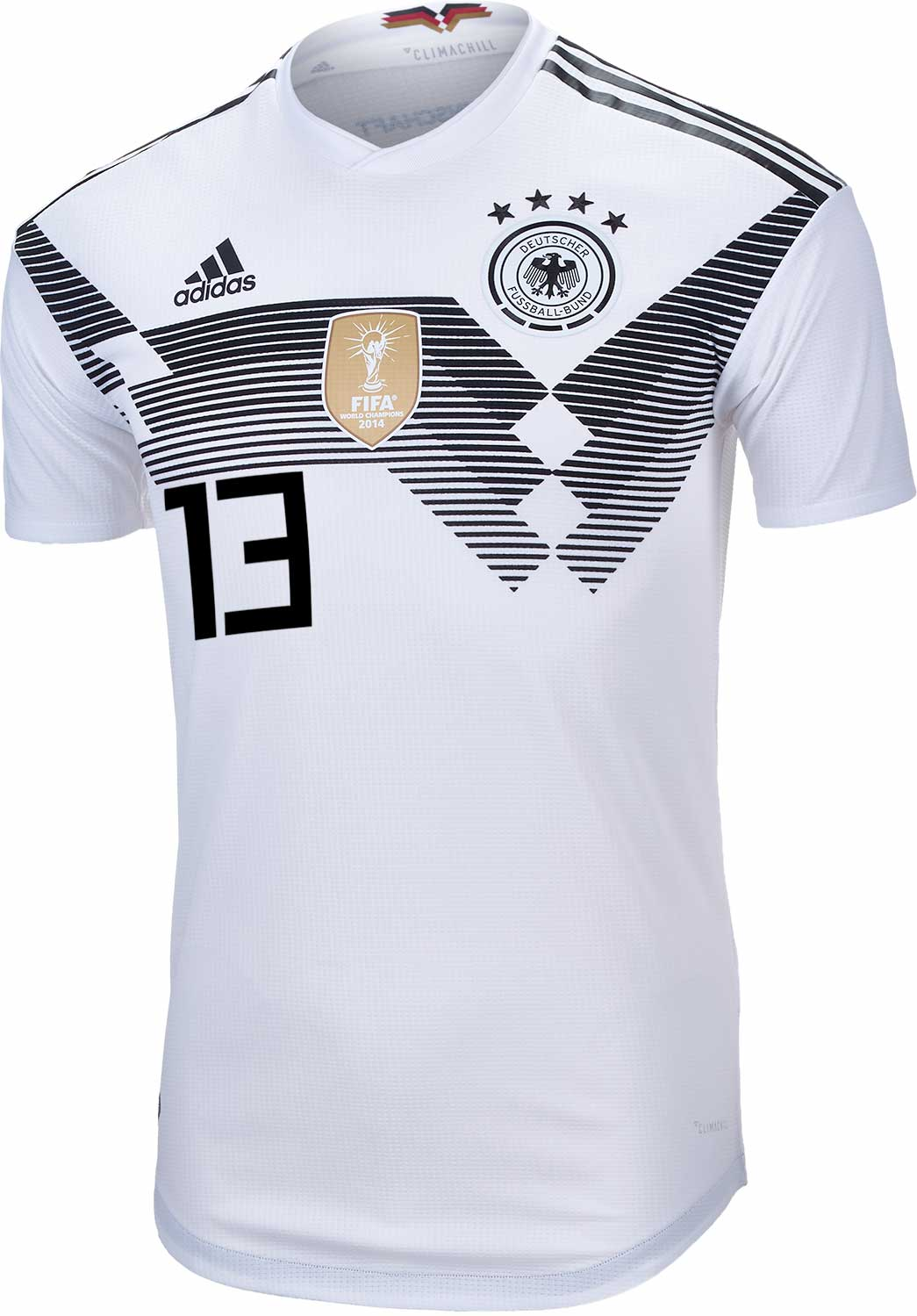 889242a5ec7 adidas Thomas Muller Germany Authentic Home Jersey 2018-19 - SoccerPro
