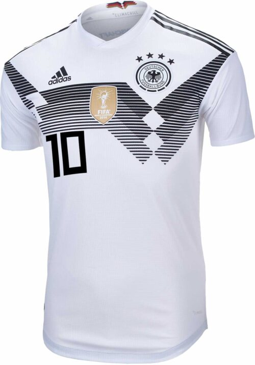 adidas Mesut Ozil Germany Authentic Home Jersey 2018-19