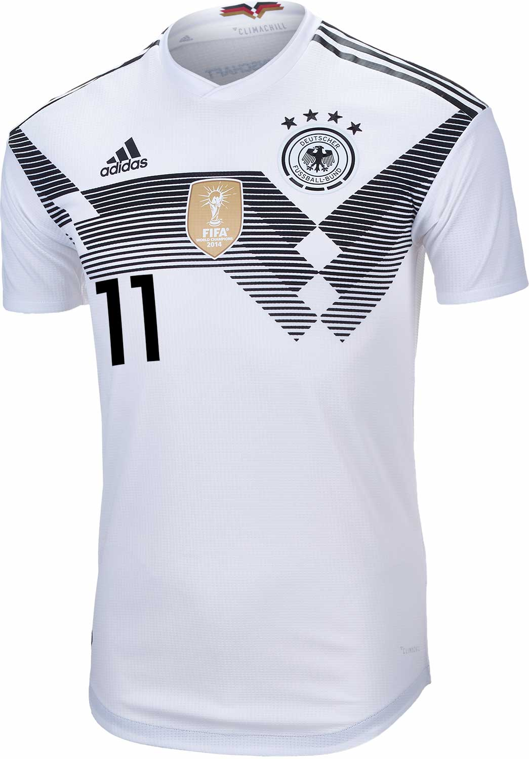 new arrivals b79a3 28ab7 adidas Marco Reus Germany Authentic Home Jersey 2018-19 ...
