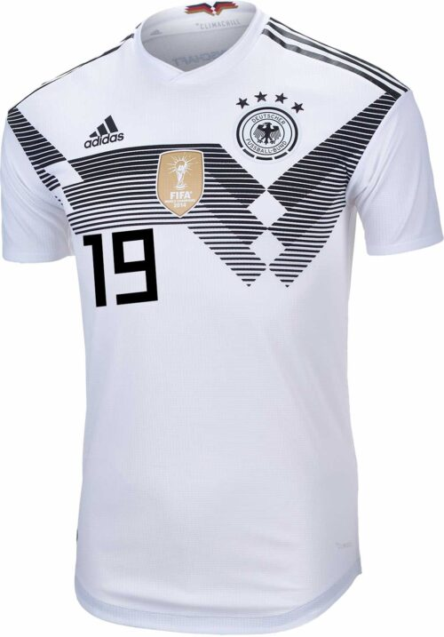 adidas Leroy Sane Germany Home Authentic Jersey 2018-19