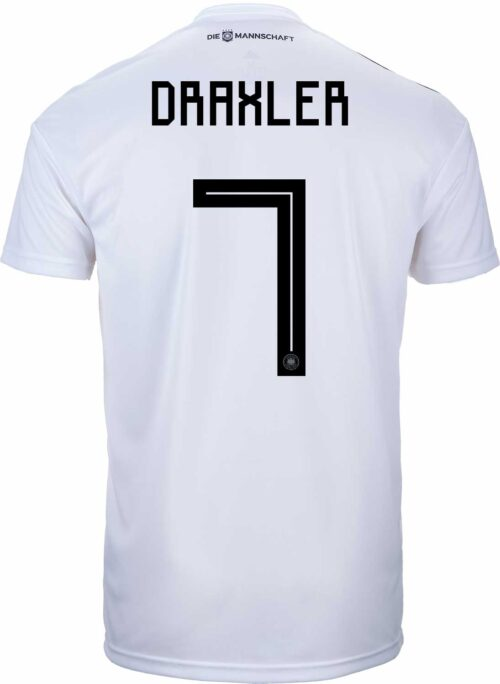 adidas Julian Draxler Germany Home Jersey 2018-19