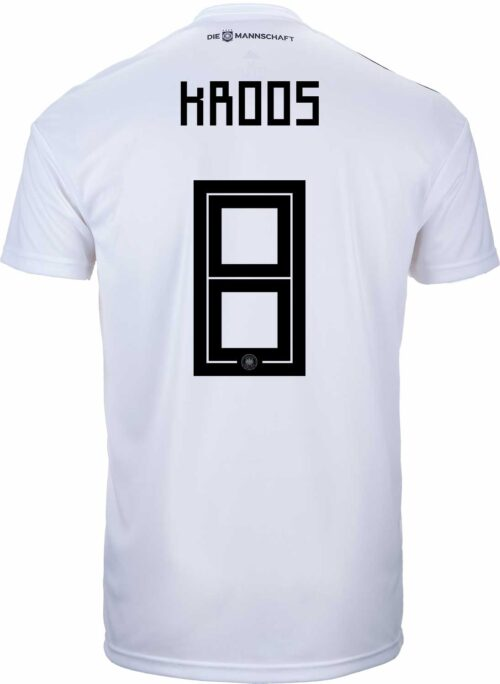 adidas Toni Kroos Germany Home Jersey 2018-19