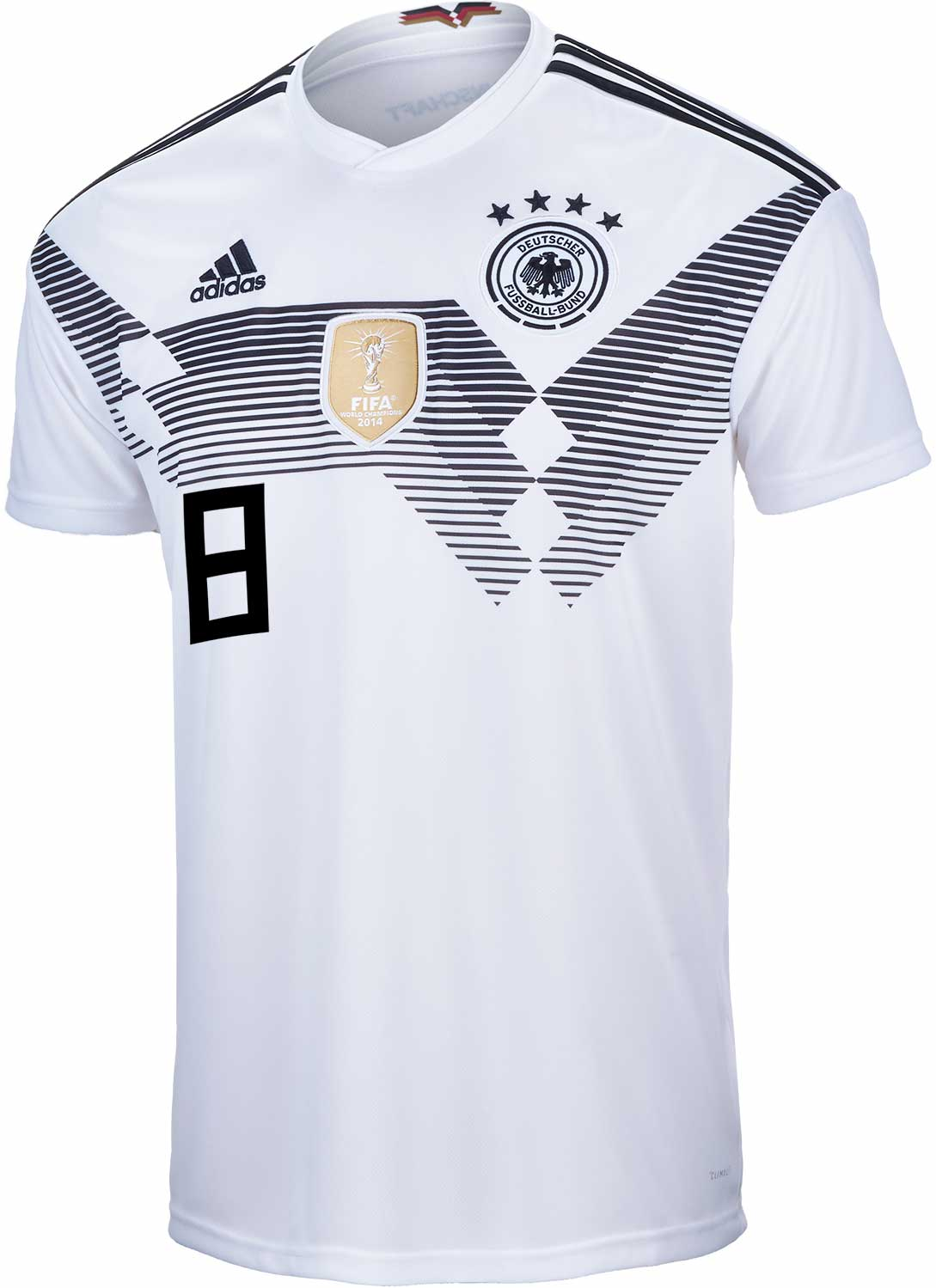 huge discount 8f8c8 2c892 adidas Toni Kroos Germany Home Jersey 2018-19 - SoccerPro