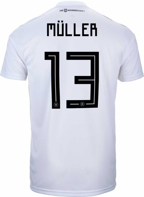 adidas Thomas Muller Germany Home Jersey 2018-19