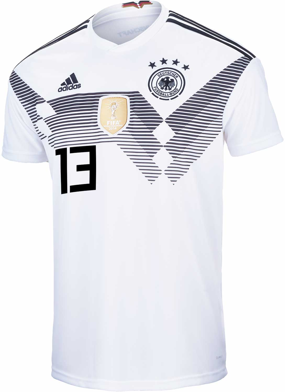 new product a7ef8 5e6c5 adidas Thomas Muller Germany Home Jersey 2018-19 - SoccerPro