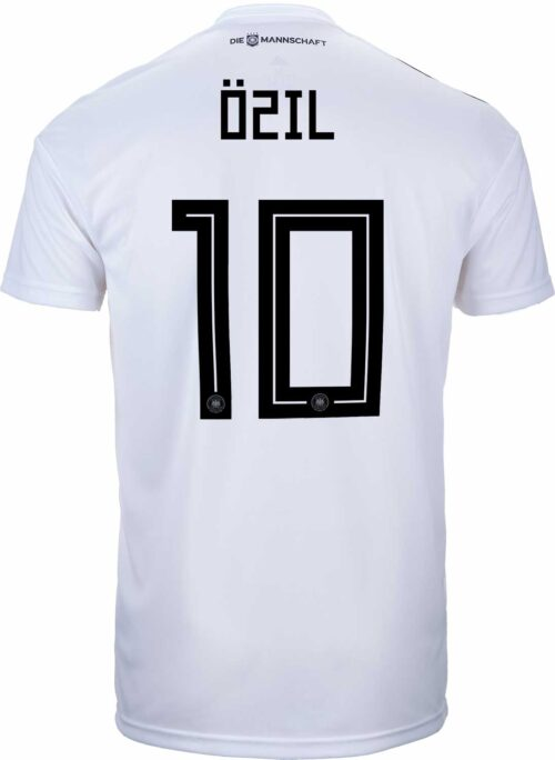 adidas Mesut Ozil Germany Home Jersey 2018-19