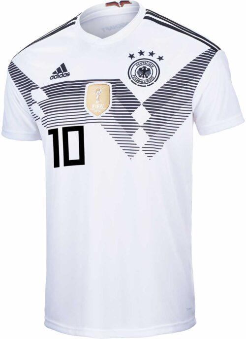 adidas Mesut Ozil Germany Home Jersey 2018-19