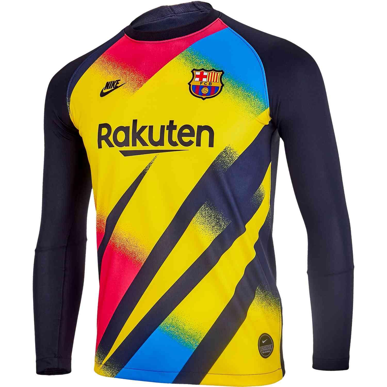 Nike Barcelona Goalkeeper Jersey 2019 20 Soccerpro