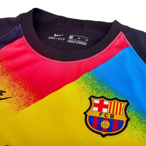 Kids Nike Barcelona Goalkeeper Jersey – 2019/20