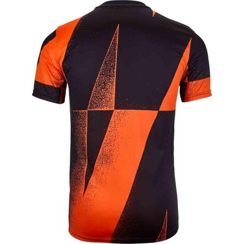 Nike Chelsea Pre-Match Top – Rush Orange/Black/Rush Orange