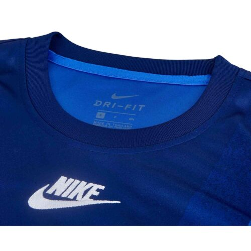 Nike PSG Pre-Match Top – Blue Void/Hyper Royal/White