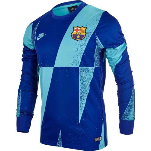 Nike Barcelona L/S Pre-match Top – Cabana/Deep Royal Blue/Cabana