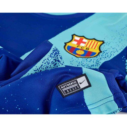 Nike Barcelona L/S Pre-match Top – Cabana/Deep Royal Blue/Cabana