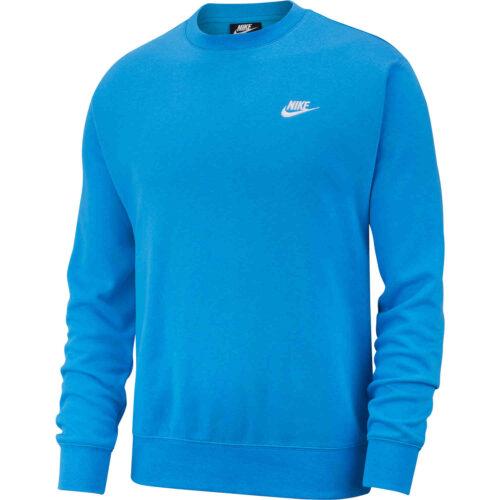 Nike Club Crew – Light Photo Blue/White