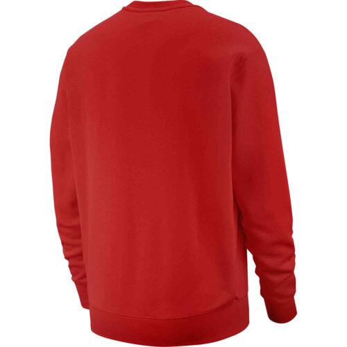 Nike Club Crew – University Red/White