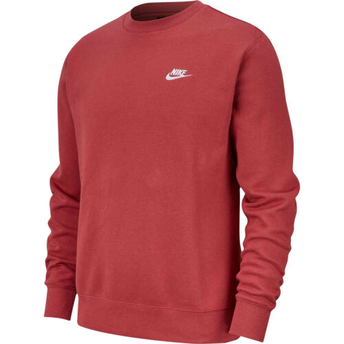 Nike Club Crew – Cedar/White