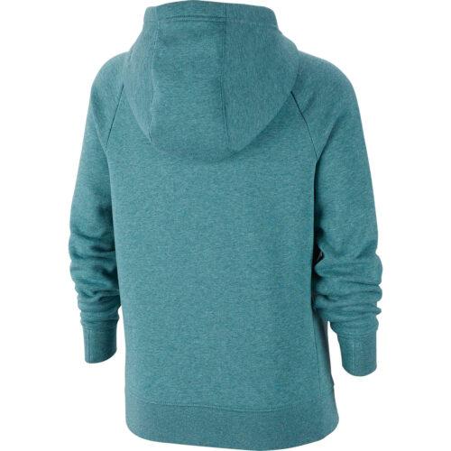 Girls Nike Fleece Full-zip Hoodie – Mineral Teal