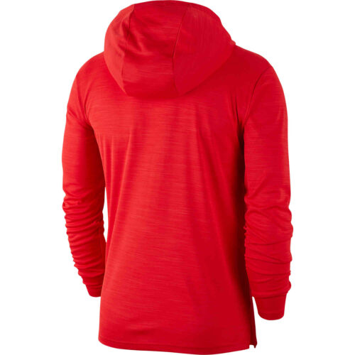 Nike Superset L/S Hooded Training Top – University Red/Black