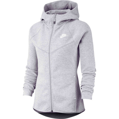 Womens Nike Windrunner Tech Fleece Jacket – Dark Grey Heather