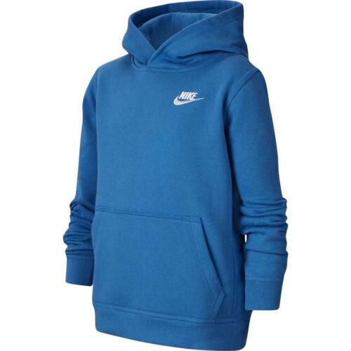 Kids Nike Sportswear Pullover Hoodie – Mountain Blue