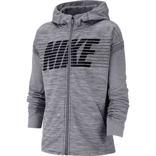 Kids Nike Therma GFX Full-zip Hoodie – Gunsmoke