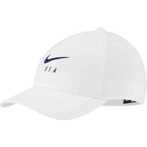 Nike USWNT H86 Cap – White/White/Blue Void