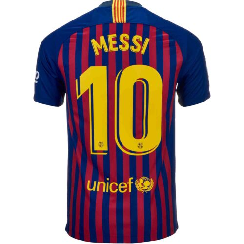 Nike Messi Barcelona Home Jersey – Youth 2018-19