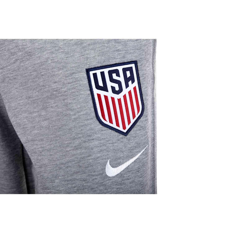 Womens Nike USWNT Tech Fleece Pants Dark Grey Heather
