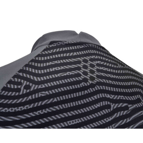 Nike Gardien III Team Goalkeeper Jersey – Dark Grey & Iron Grey with Black